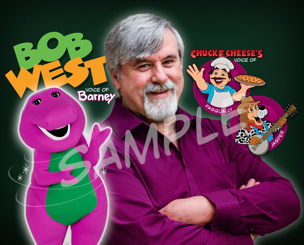 Bob West - Signing Photo #2 - with Barney, Jasper and Pasqually